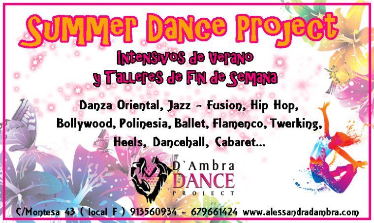 ¡Summer Dance Project!
