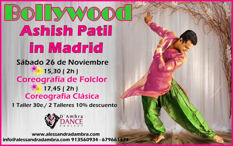 Ashish Patil in Madrid