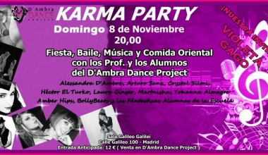 Karma Party 2015 - Nuestro Welcome Show